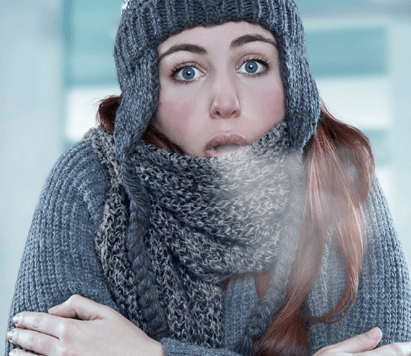 холодно в доме
